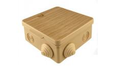 Коробка ответвительная наружная 80x80x50 IP54 сосна TDM