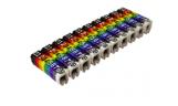"""Маркеры кабельные наборные-комплект цифр (""""0""""-""""9"""") 1,5мм2 (150шт) TDM"""