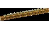 Шина нулевая 6х9-14/2 63А (2х25мм2 и 12х10мм2)