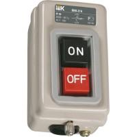 Выключатель кнопочный ВКИ-211 3п 6А IP40 230/400В