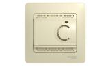 Термостат для теплого пола с датчиком в сборе 10А Бежевый Glossa