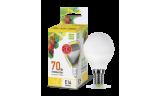 Лампа LED-ШАР 7.5Вт Е14 3000К 230В 675Лм ASD