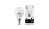 Лампа LED Шар 6Вт Е14 4100К 230В 450Лм Gauss