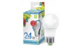 Лампа LED-A65 24Вт 220В Е27 4000К 2160Лм ASD