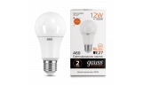 Лампа LED А60 12Вт 230В Е27 3000К 1130Лм Gauss