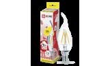 Лампа LED-Свеча на ветру-deco 7Вт Е14 3000К 630Лм прозрачная InHome