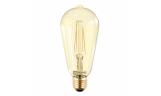 Лампа LED-ST64-deco 7Вт Е27 3000К 630Лм золотистая InHome