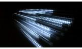 """Гирлянда """"Тающие сосульки"""" 10 LED-сосулек 0,5м на проводе 2,5м белая"""