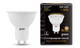 Лампа LED MR16 5Вт GU10 230В 2700К 500Лм Black Gauss