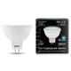 Лампа LED MR16 5Вт 230В GU5.3 4100К 530Лм Black Gauss