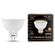 Лампа LED MR16 7Вт 230В GU5.3 2700К 600Лм Black Gauss