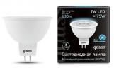 Лампа LED MR16 7Вт 230В GU5.3 4100К 630Лм Black Gauss