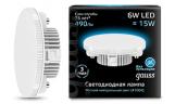 Лампа LED 6Вт GX53 4100К 230В 490лм Black Gauss
