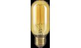 Лампа винтажная T45 60Вт 210Лм Е27 золотистая Navigator