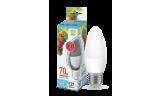 Лампа LED-Свеча 7.5Вт Е27 4000К 230В 675Лм ASD