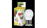 Лампа LED-ШАР 5Вт Е27 3000К 230В 450Лм ASD