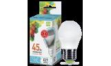 Лампа LED-ШАР 5Вт Е27 4000К 230В 450Лм ASD