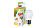 Лампа LED-ШАР 7.5Вт Е27 3000К 230В 675Лм ASD