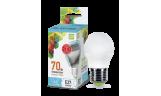Лампа LED-ШАР 7.5Вт Е27 4000К 230В 675Лм ASD