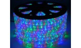 Дюралайт LED 3-х жильный круглый 13мм Мультиколор