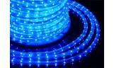 Дюралайт LED 3-х жильный круглый 13мм Синий