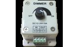 Диммер для светодиодной ленты 8А 12-24В потенциометр