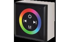 Контроллер для светодиодной RGB ленты 12А 12-24В сенсорная панель