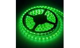 Светодиодная лента герметичная 14,4 Вт/м 5050 60LED/m IP65 12В (зелёная)