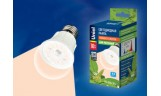 Лампа для растений LED А60 10Вт Е27 полный спектр Uniel