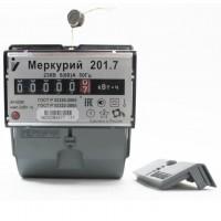 Счетчик 1ф 201.7 5-60А (DIN-рейка) Меркурий