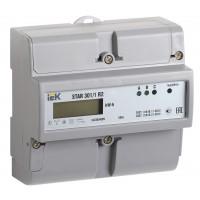 Счетчик STAR 301/1 3ф R2 10-100А Э ЖК дисплей (DIN-рейка) IEK