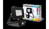 Светодиодный прожектор с датчиком движения СДО-5ДВР-30 30Вт 6500К 2400Лм IP44 LLT