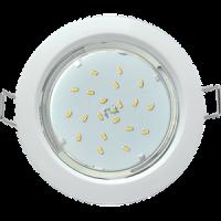 Светильник точечный GX53 H4 белый