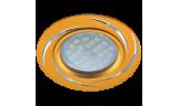 Светильник точечный литой DL3181 MR16 GU5.3 золото/алюм