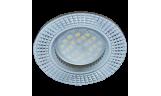 Светильник точечный литой DL3182 MR16 GU5.3 хром/алюм