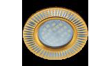 Светильник точечный литой DL3182 MR16 GU5.3 золото/алюм