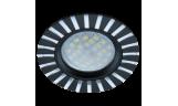 Светильник точечный литой DL3183 MR16 GU5.3 чёрный/алюм