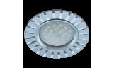 Светильник точечный литой DL3183 MR16 GU5.3 хром/алюм