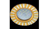 Светильник точечный литой DL3183 MR16 GU5.3 золото/алюм