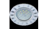 Светильник точечный литой DL3184 MR16 GU5.3 хром/алюм