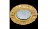 Светильник точечный литой DL3184 MR16 GU5.3 золото/алюм