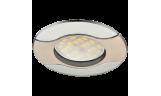 Светильник точечный литой HL029 MR16 GU5.3 сатин-хром/хром