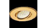 Светильник поворотный DH09 MR16 GU5.3 золото