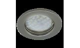 Светильник точечный DL90 MR16 GU5.3 чёрный хром
