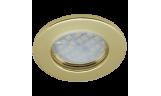 Светильник точечный DL90 MR16 GU5.3 золото