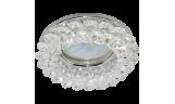 Светильник точечный CD4141 MR16 GU5.3 прозрачный/хром
