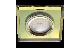 Светильник точечный DL1651 MR16 GU5.3 стекло золото/золото
