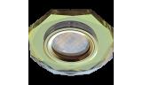 Светильник точечный DL1652 MR16 GU5.3 стекло золото/золото