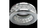 Светильник точечный DL1656 MR16 GU5.3 прозрачный/хром