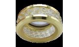Светильник точечный DL1656 MR16 GU5.3 прозрачный/золото